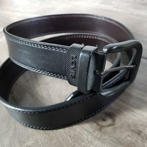 Levi's mens black leather belt